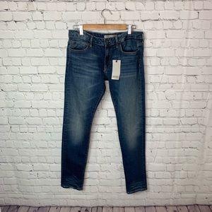 Zara Low Rise Skinny Denim Jeans Size 10